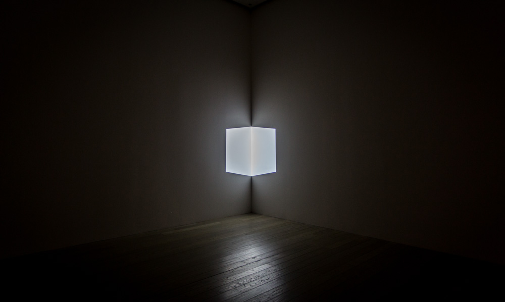 James Turrell. Afrum (White), 1967. Light projection.