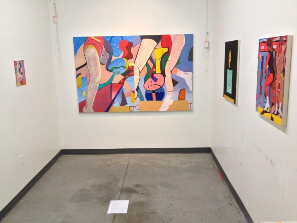Studio installation view at UC Irvine
