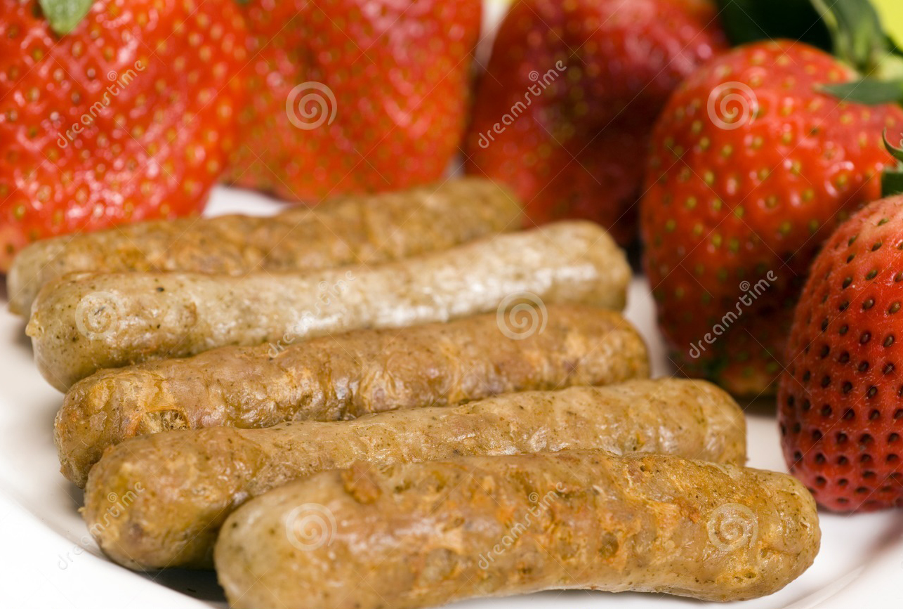 http://www.dreamstime.com/stock-photo-pork-sausage-links-strawberries-image2034470